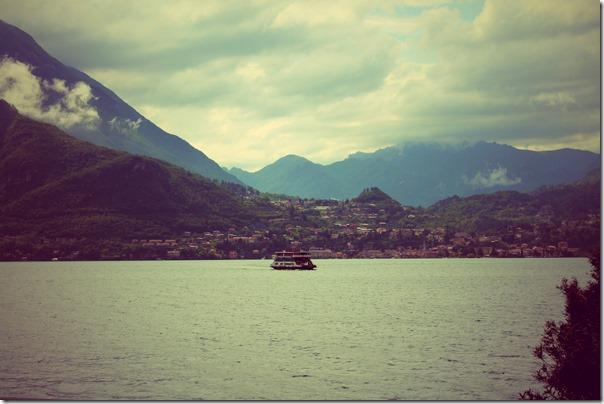 ferry sepia